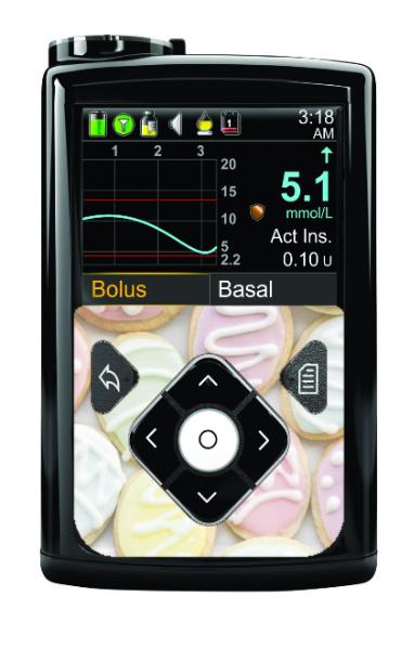 Medtronic 640G/670G Sticker - Cookies