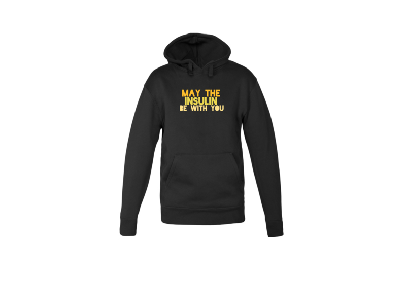 Hoodie - May the insulin be with you Black