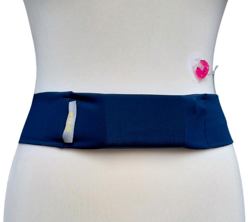 Comfort belt Bauchband Stahlblau