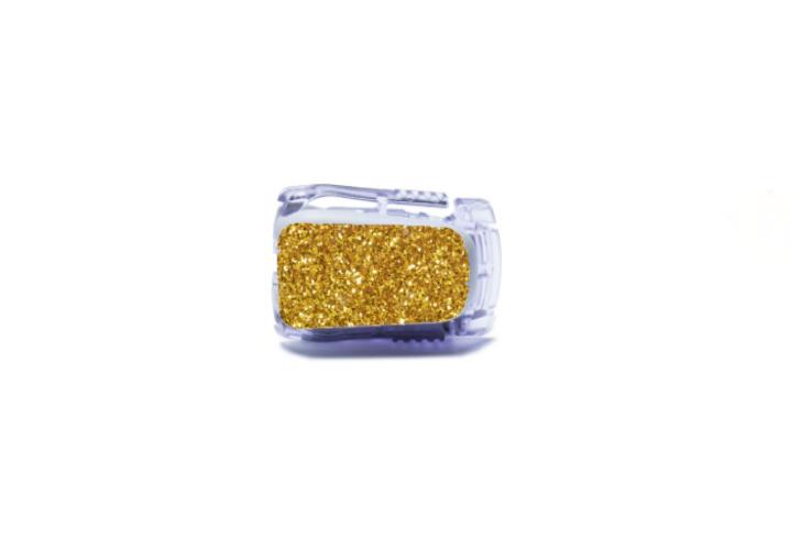 Dexcom G5 Sticker - Gold Glitter