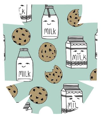 MyLife Pod Sticker - Milk & Cookies