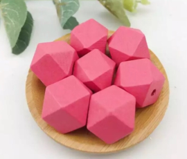 Fuchsia hexagon