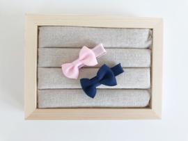 Babyspeldjes licht roze - blauw