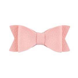 Haarspeld met strik roze