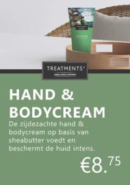 Treatments® A7 luxe prijskaart met voet