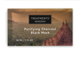 Doosje 25 stuks - 30ml Sachet Black purifying charcaol mask