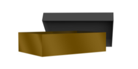 Lege luxe giftbox gevuld met sizzle - zonder sleeve