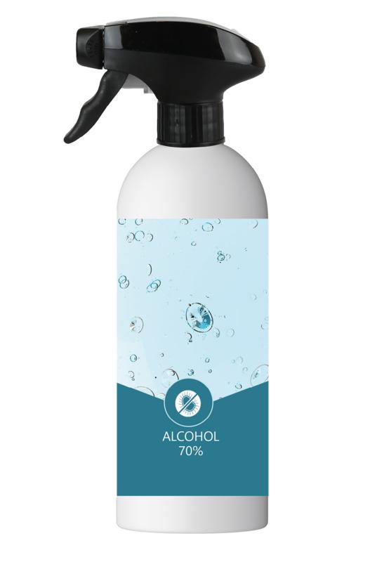 Hand hygiene lotion 500ml - 70% alcohol - met trigger