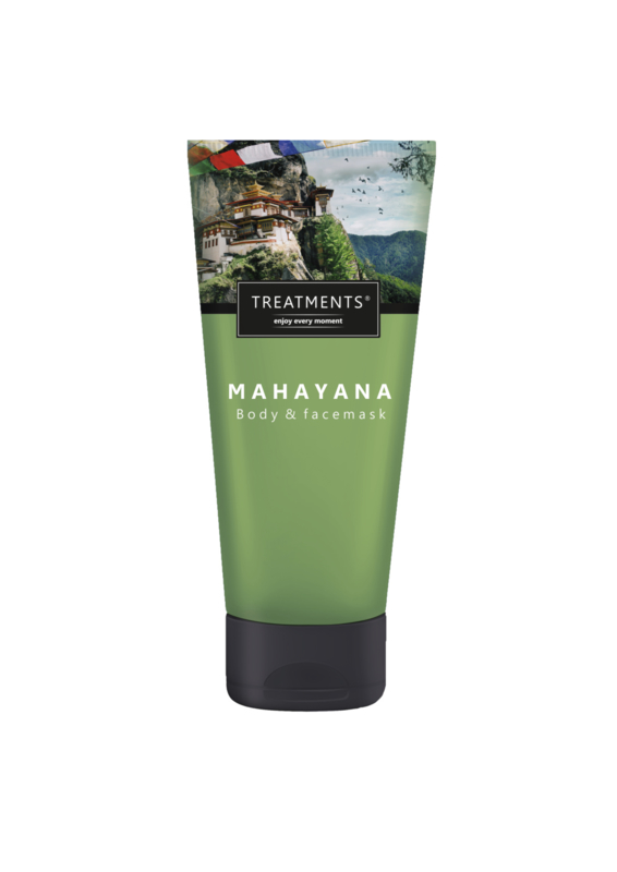 200 ml - Mahayana body & face cleansing mask