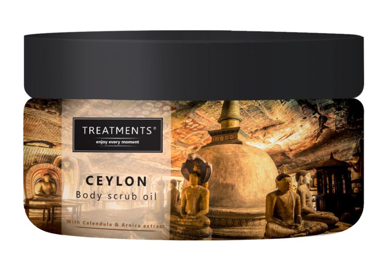 500 gram - Ceylon body scrub oil