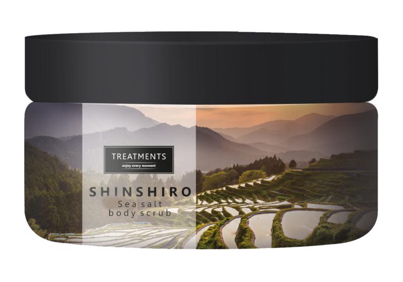 450 gram - Shinshiro sea salt body scrub