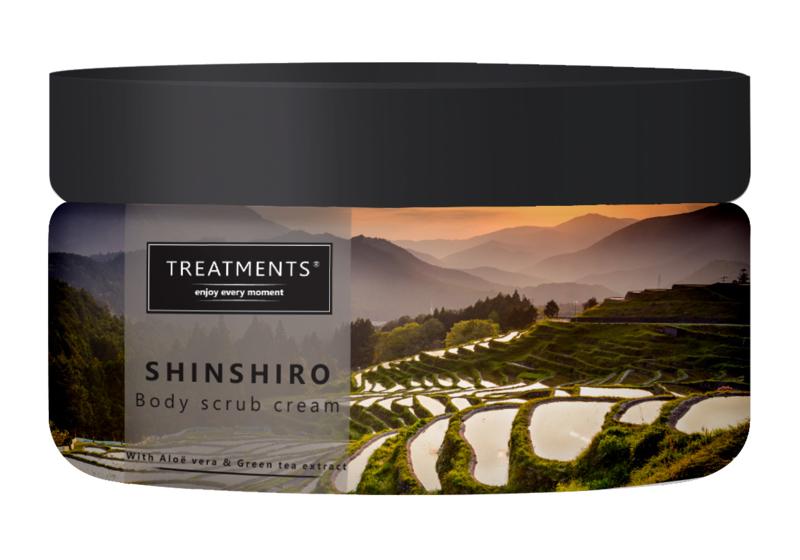 300 gram - Shinshiro body scrub cream
