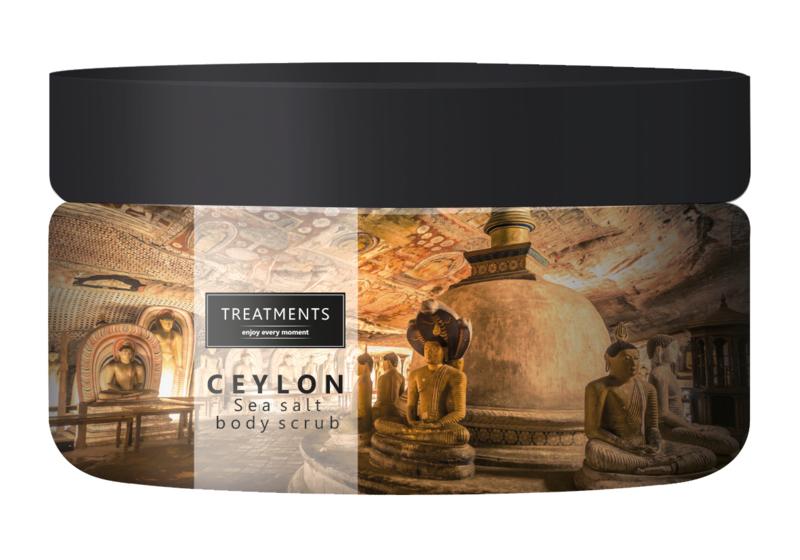 450 gram - Ceylon sea salt body scrub