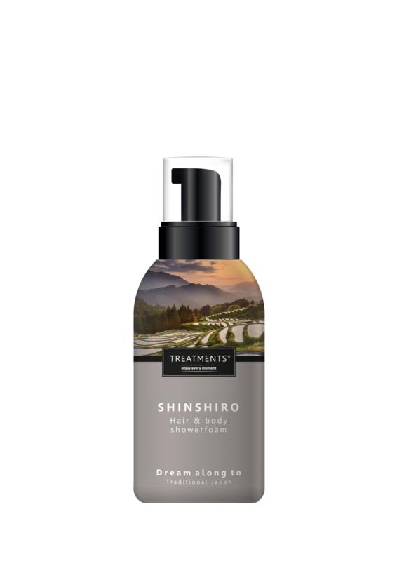 250 ml - Shinshiro hair & body showerfoam