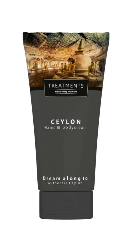 200 ml - Ceylon hand & bodycream