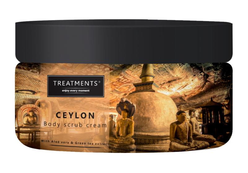 300 gram - Ceylon body scrub cream