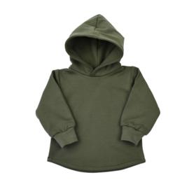 Hoodie Soft - Khaki Green