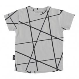 T-shirt Grey Lines