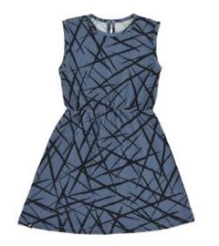Dress Sleeveless Blue XY