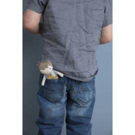 Knuffelpop Jim - 10cm