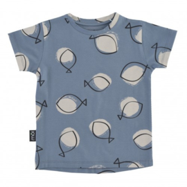 T-shirt Blue Fish