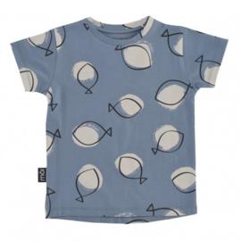 T-shirt Blue Fish