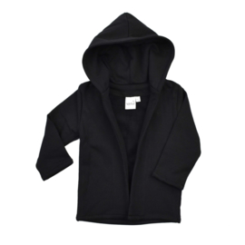 Hoodie Vest - Black