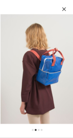 Small backpack ink blue glitter
