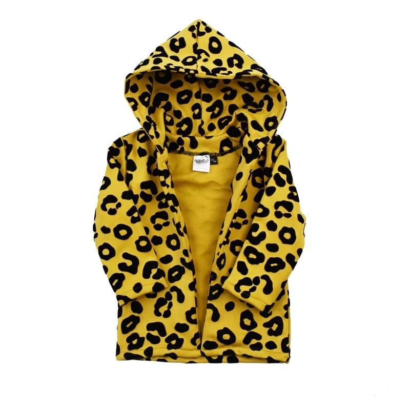 Vest leopard ochre