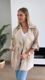 Kimberly jasje beige