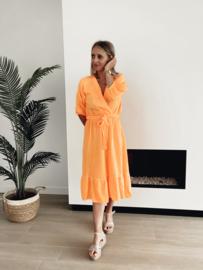 Heaven dress oranje