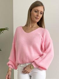 Soft basic V pink