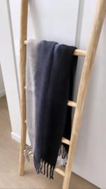 Sjaal Winter Sleep zwart/grijs