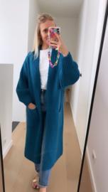 Leen Bernadette appelblauw zeegroen