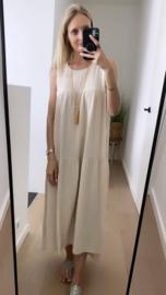 Selina dress beige