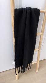 Sjaal Winter zwart