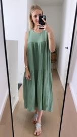 Selina dress khaki