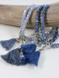 Evita blauw/grijs