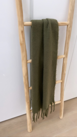 Sjaal Winter khaki