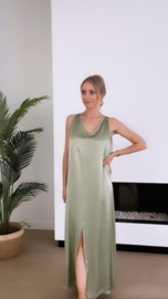Lio dress khaki