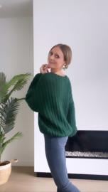 Jolien knit donker groen