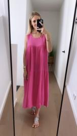 Selina dress fuchsia