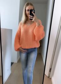 Jolien knit oranje
