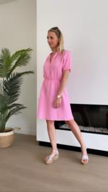 Stella dress roze