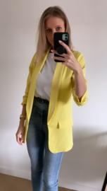 Romy blazer geel