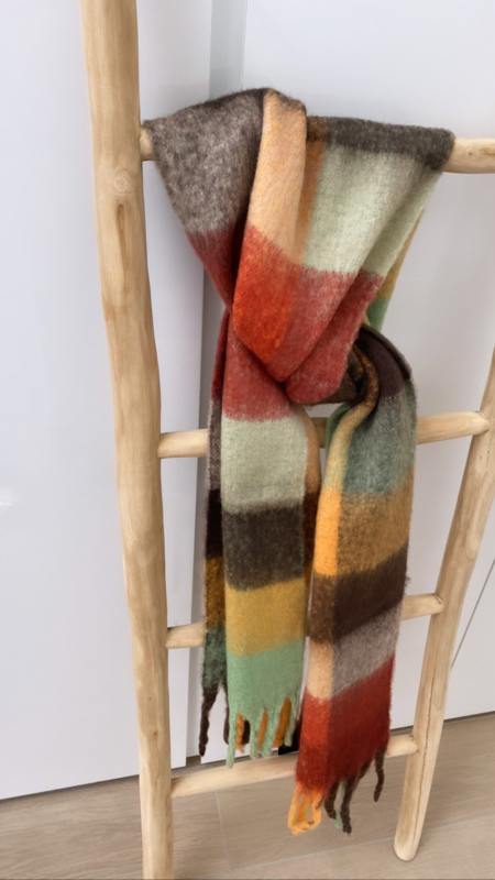 Sjaal Cosy multicolor