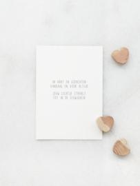 Rouwkaart - In hart en gedachten