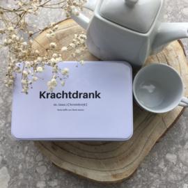 Koffieblik - Krachtdrank: Sterke koffie voor Sterke mensen