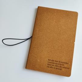 Notitieboekje - 'het zijn niet de woorden waaraan men hecht'
