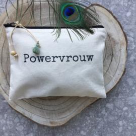 Etui voor de Powervrouw